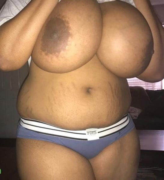 Big black tits flash-3967