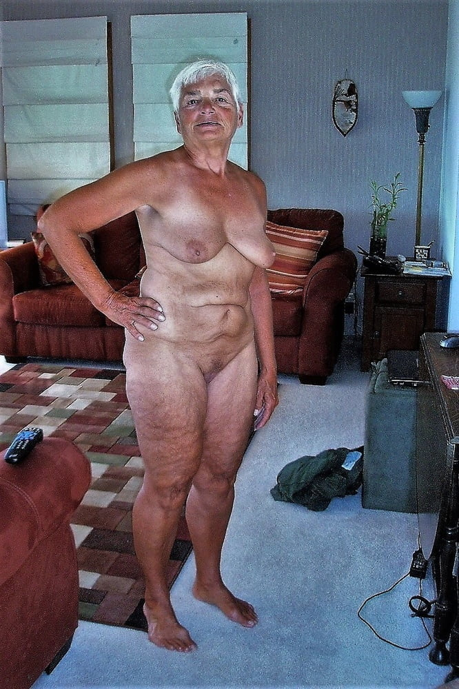 The oldest grannies posing nude