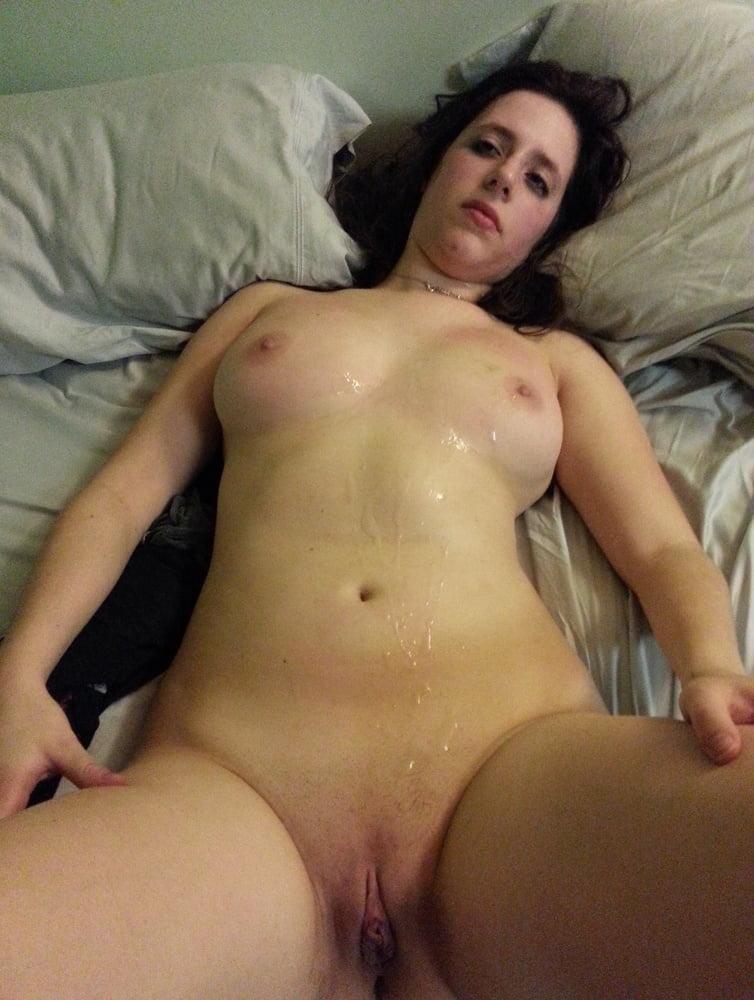 Hairy Pussy Full Of Cum