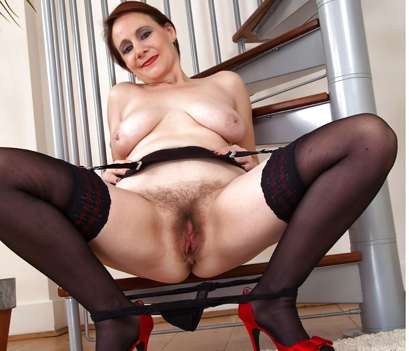 Penetration hairy pussy ladies in stockings and balls erotic