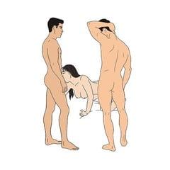 Threesome Sex Photos