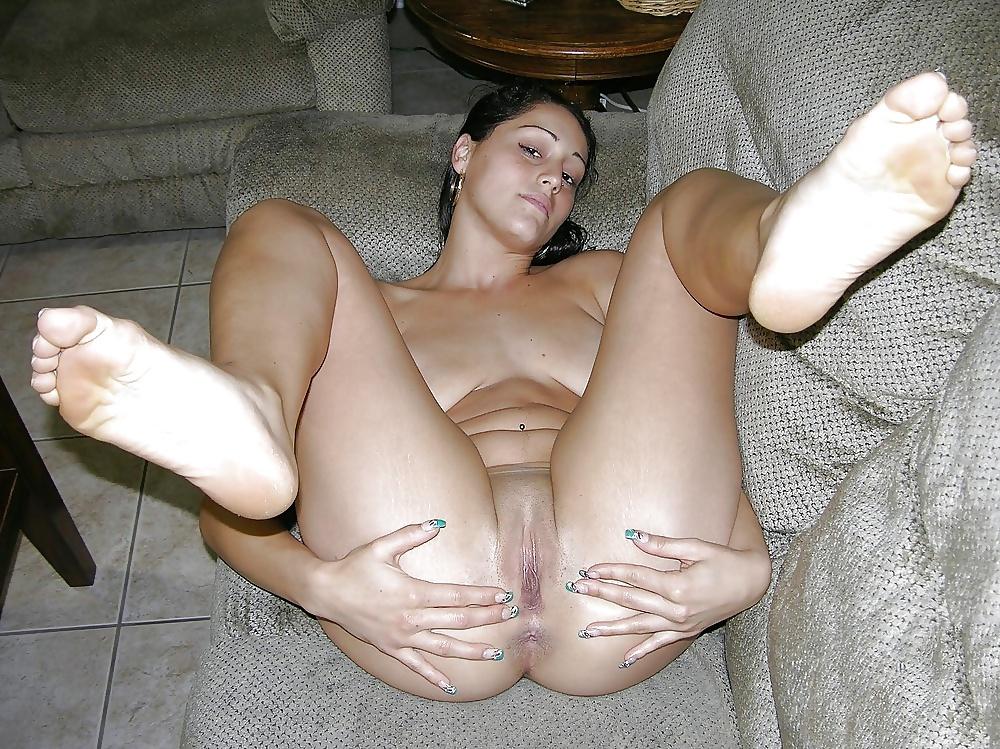 Wide Open Pussy Creampie