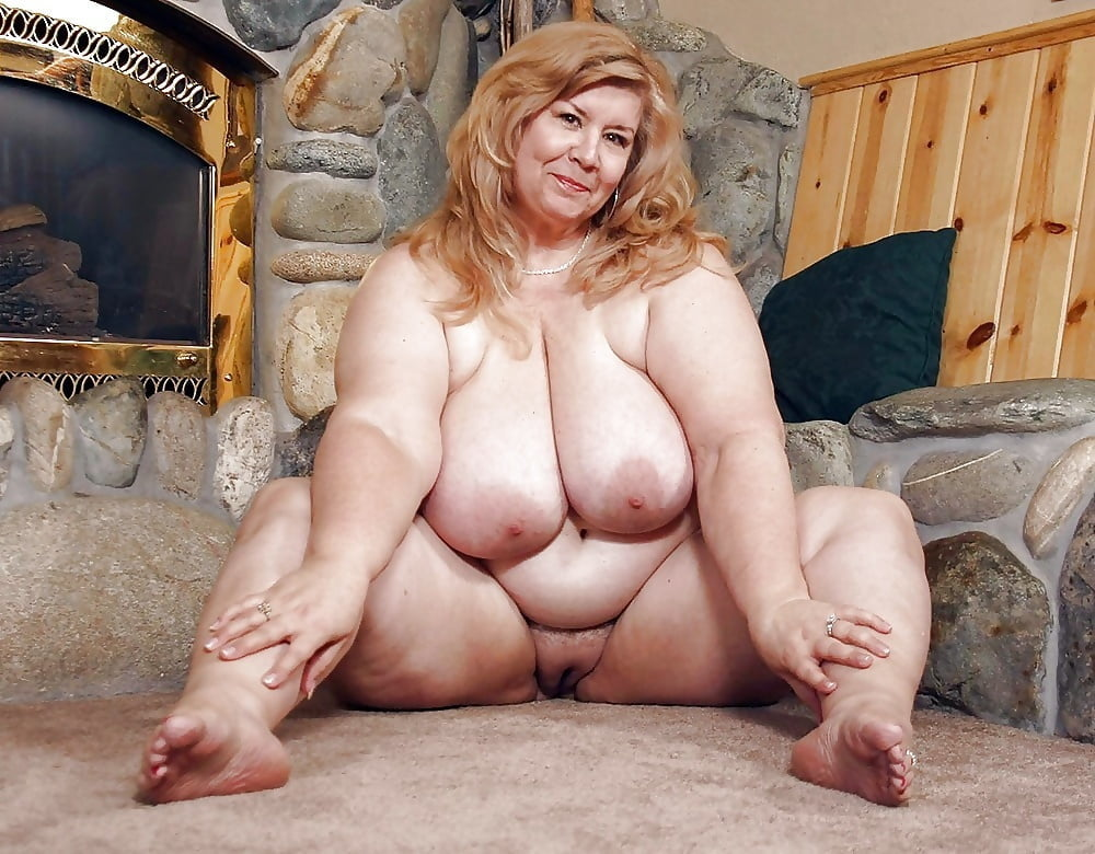 Mature huge tits chubby