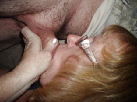 sucking cock Wives strange