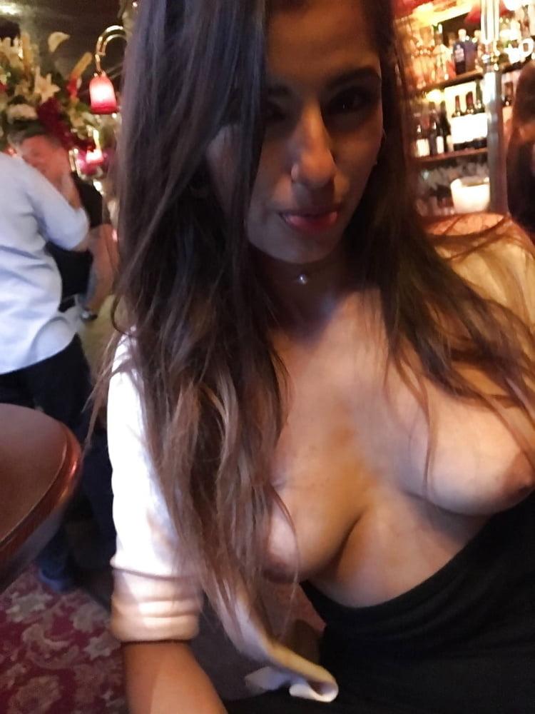 Ebony tits close up-9917
