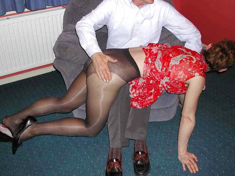Spanking Pantyhose