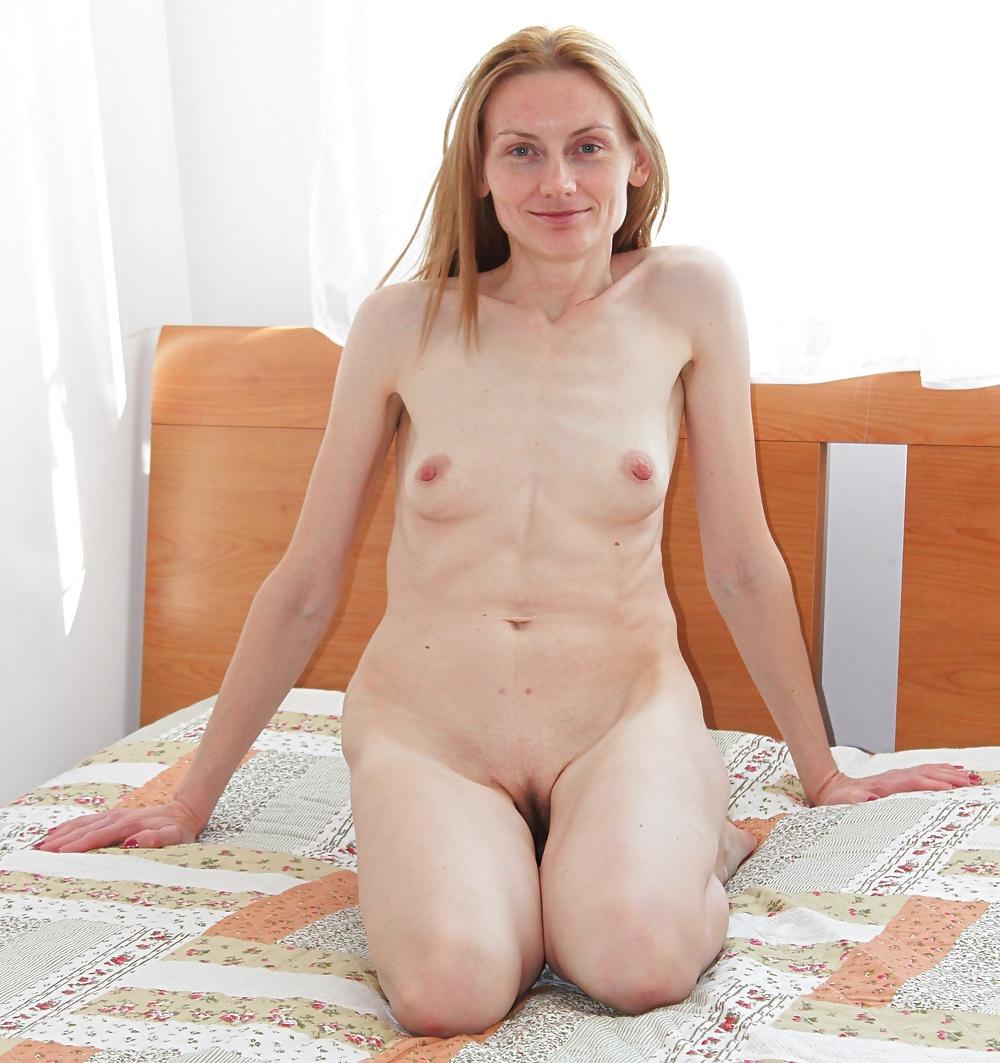 Cute milf blonde small tits