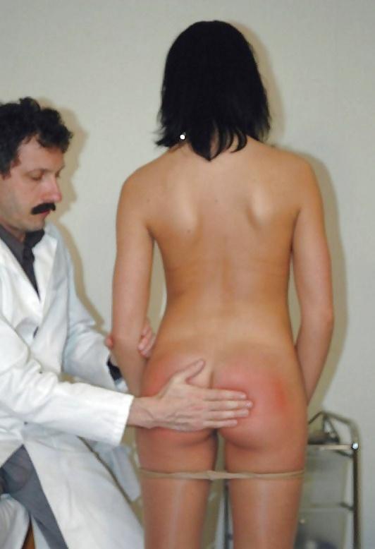 Doctor spanking girls, milf dominates executive husband