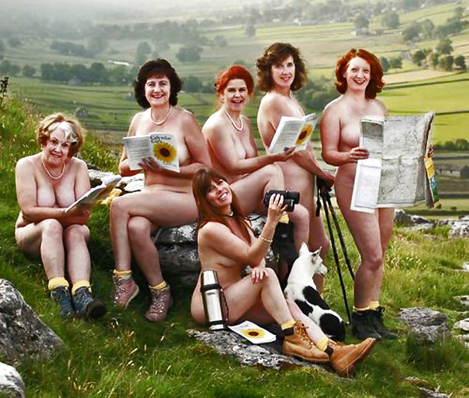Original calendar girls announce there'll be no naked photos but are holding a gala concert