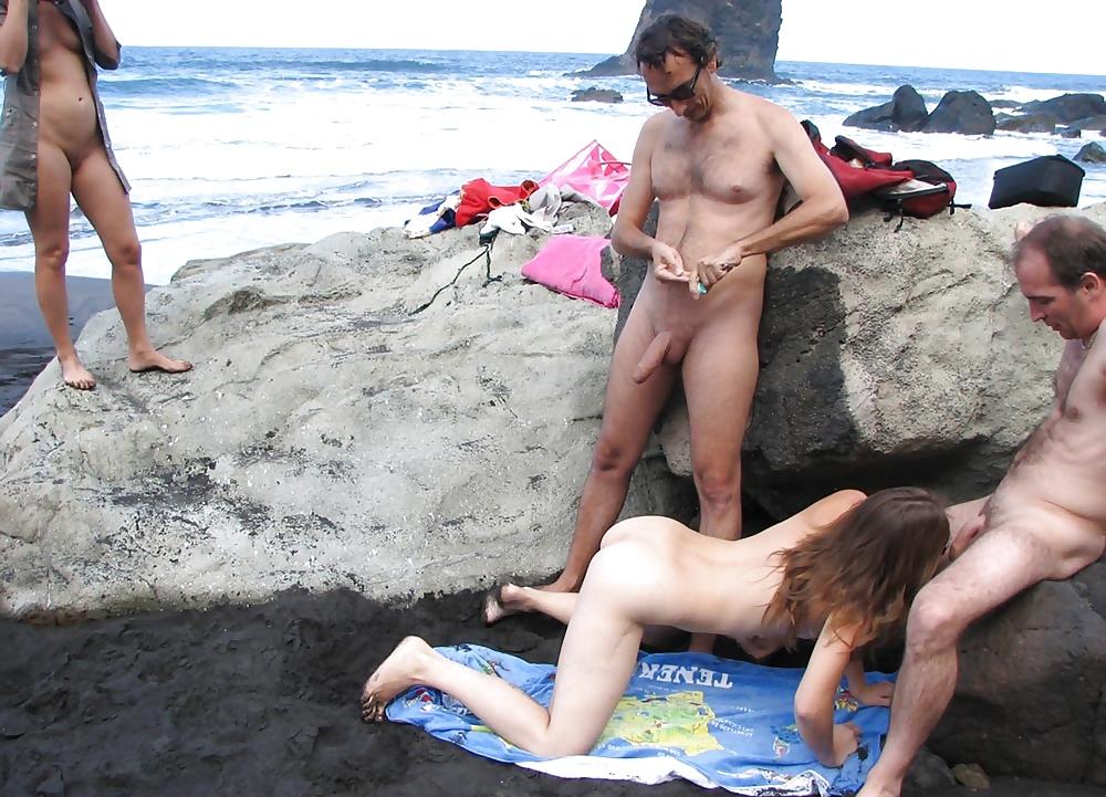 French amateur beach porn #9