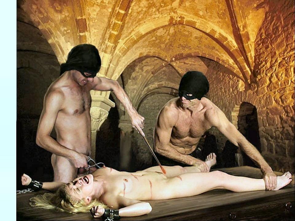 Porno hexenfolter Hexenkerker