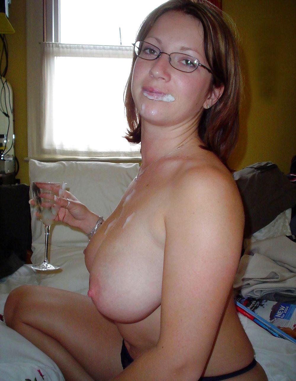 Wife big boobs naked