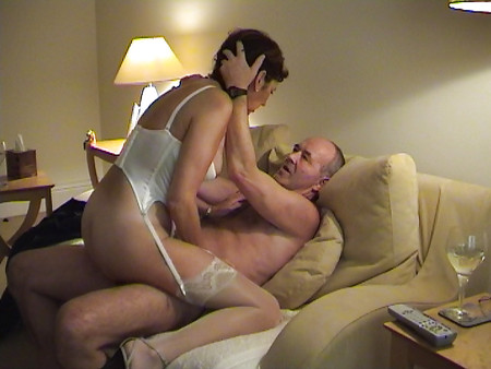 Mature Couple On Camera