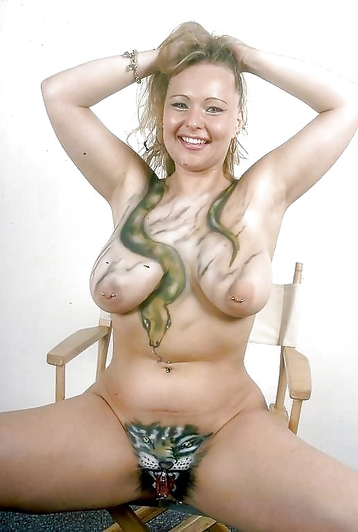 Body Painting Pussy