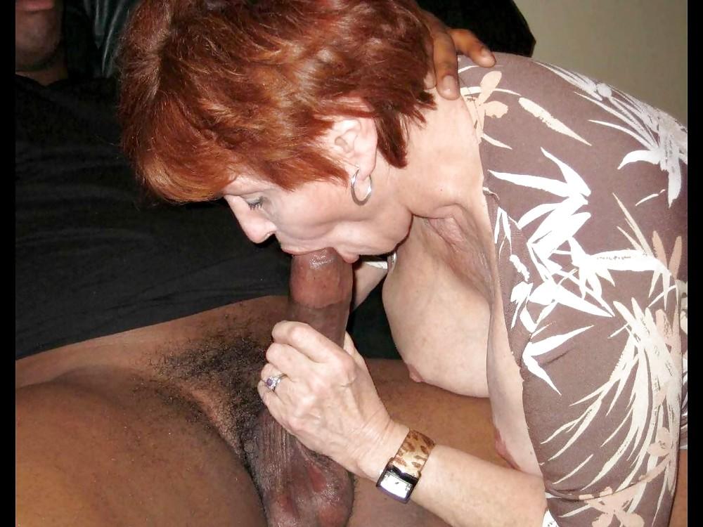 Old Ladies That Like Black Dick White