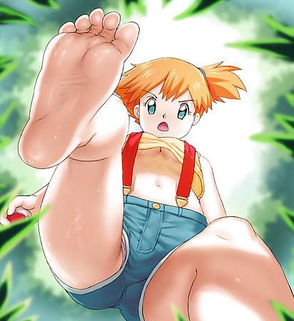 Pokemon feet hentai