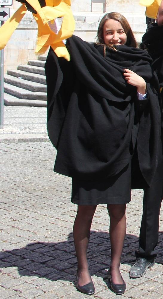 Women in black pantyhose-2441