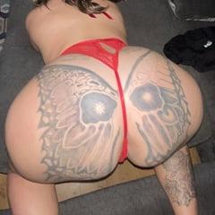 Riding Big Cock Reverse Cowgirl Big Ass Tattoos Milf Wife