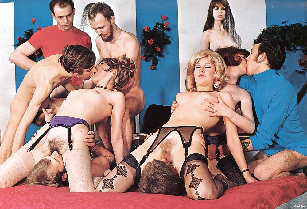 Retro orgy nude