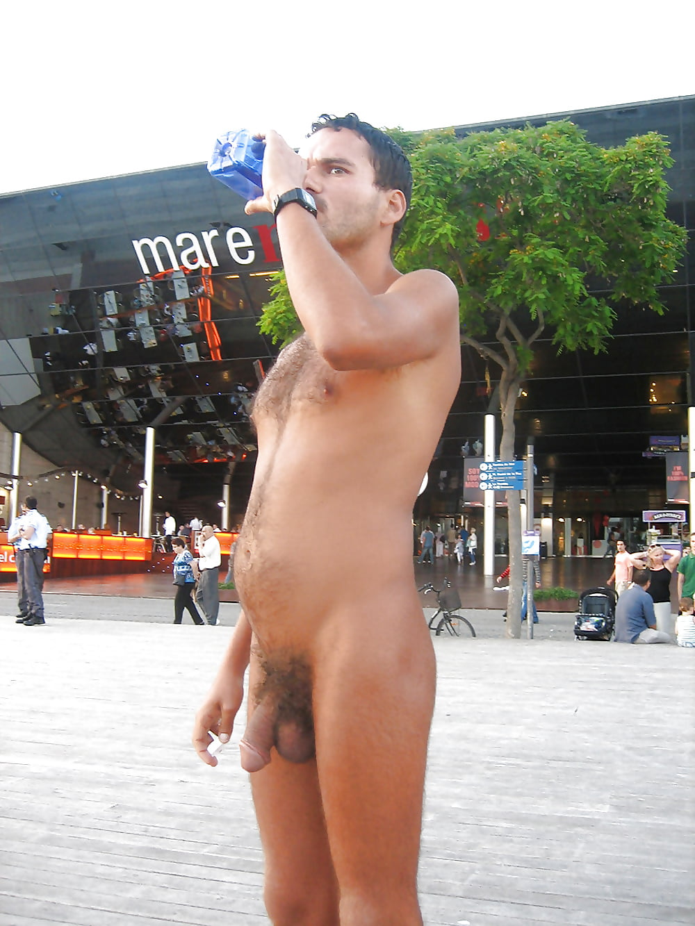 Male nude birthday 3