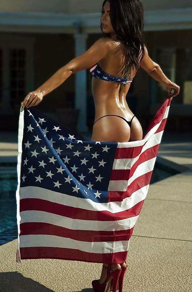 Фото жопы с американским флагом, секс с чиновниками