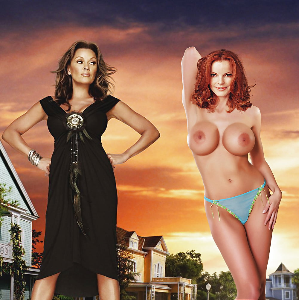 Desperate housewife naked