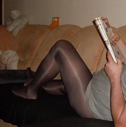 Pantyhose husbands stories skirt