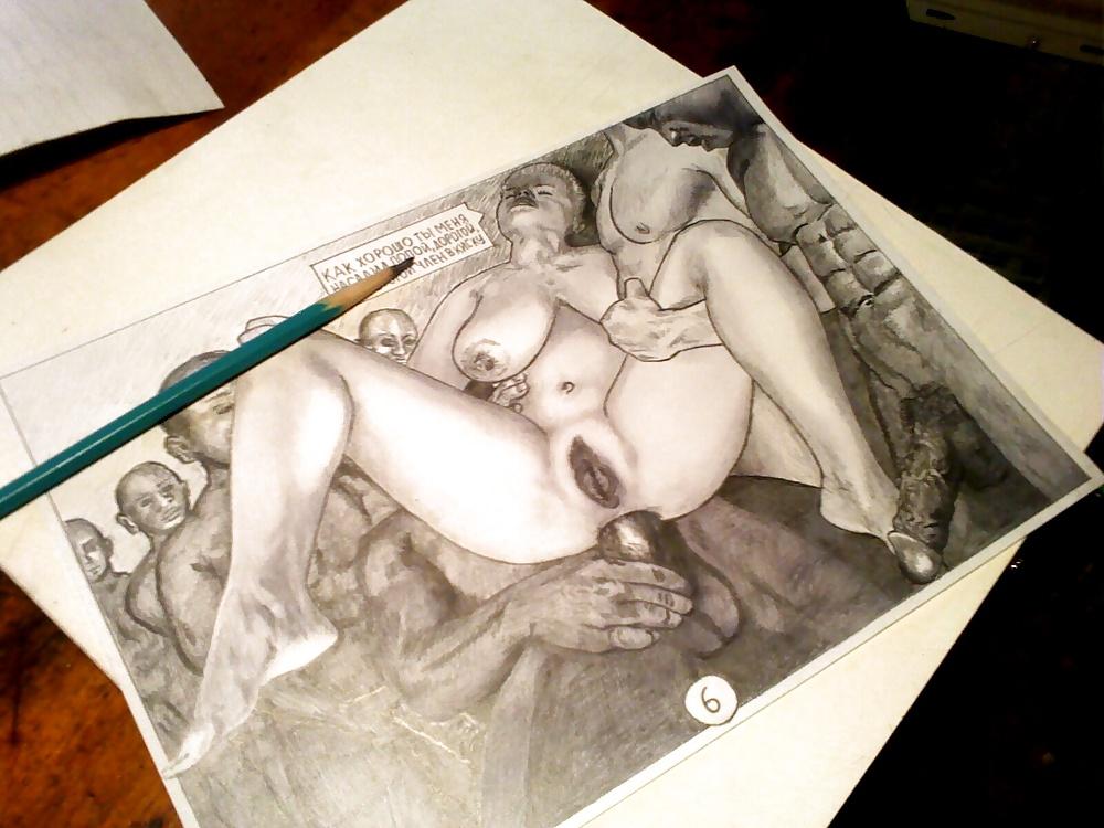 секс нарисовано простым карандашом старый, американский