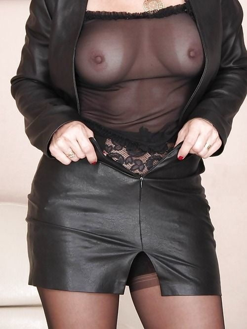 Dangerous Hot Latina Tuesday Cross In Black Leather Skirt And Red Panties Gets Nude And Uses Dildo