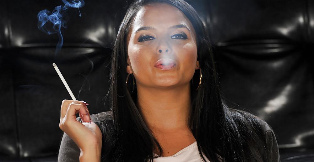 Sex sexy elegant smoker
