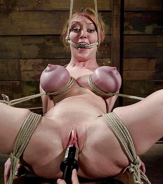 Sex slave in bondage and torture fuck pics