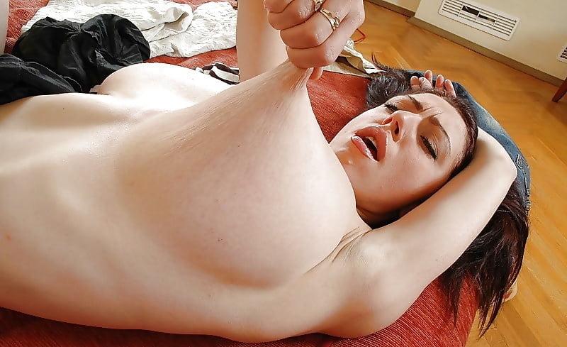 Girls Pulling Their Nipples