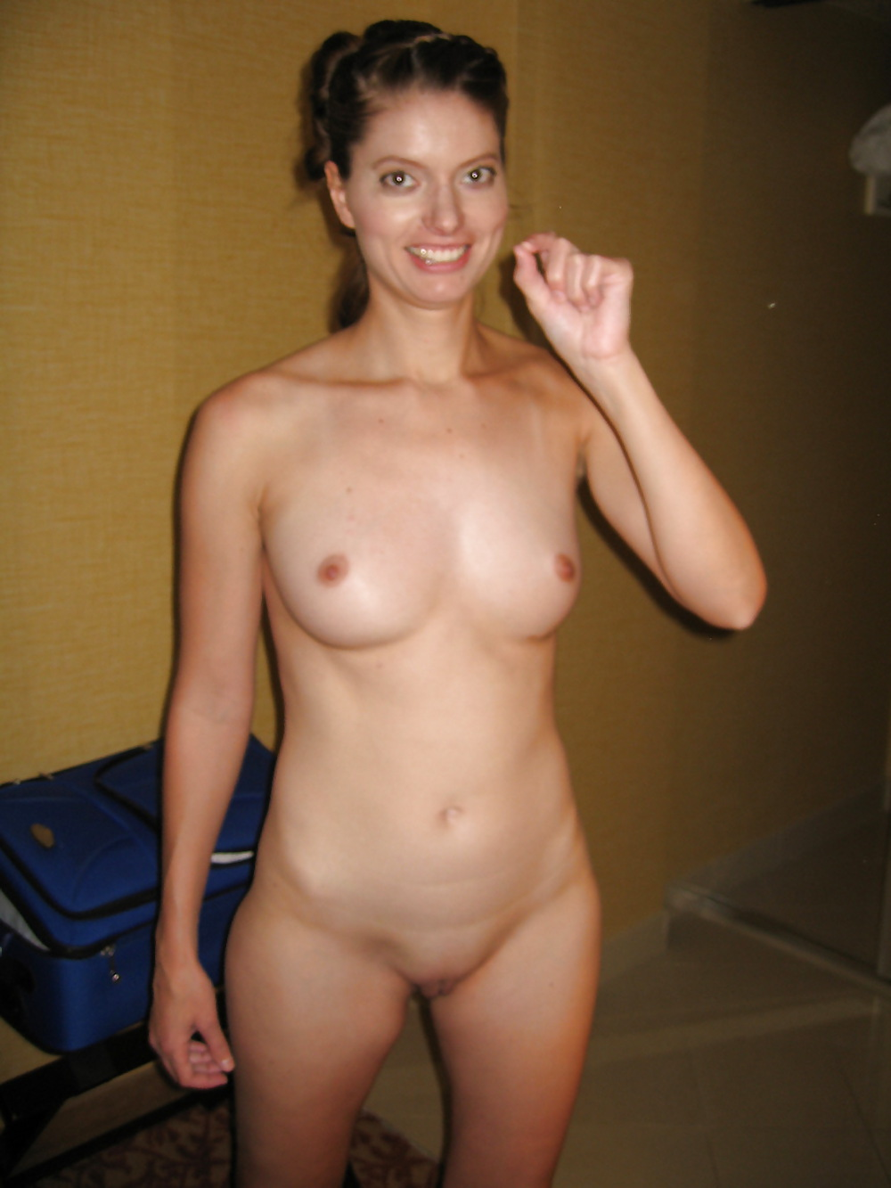 Backyard nudist picture