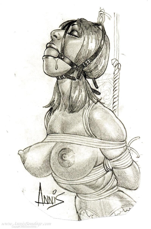 Female Bondage Drawings