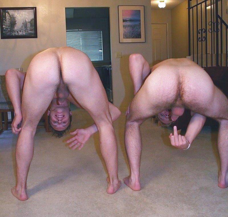 Naked Girls Bending Over