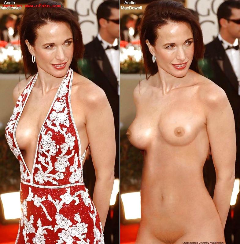 Andie macdowell topless