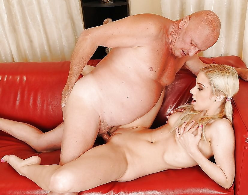 Collage girl with our grandfather sex
