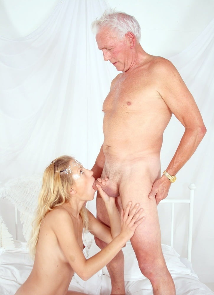 Old man young women naked 10