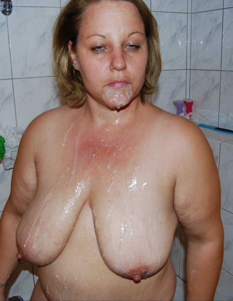 Dame Hangetitten Braungebrannt Oral