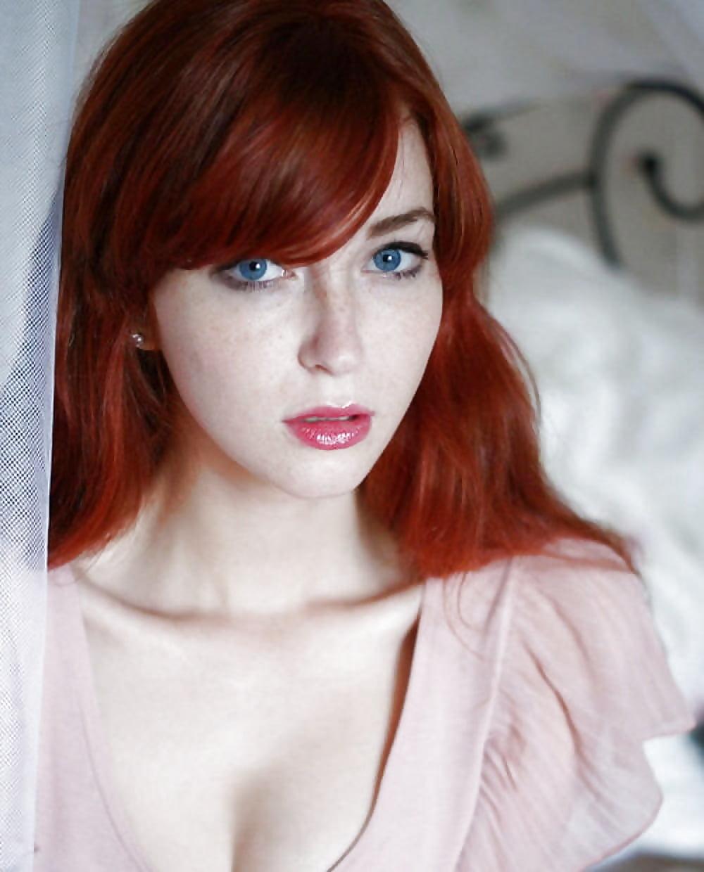 Nude pale skin redhead women, invisible man nude scenes