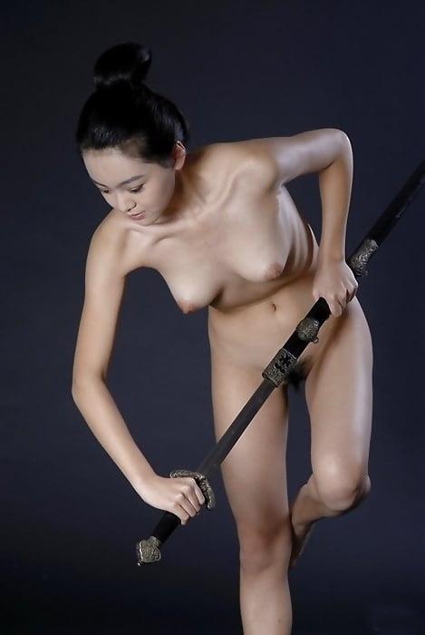 Hard cock sword fight