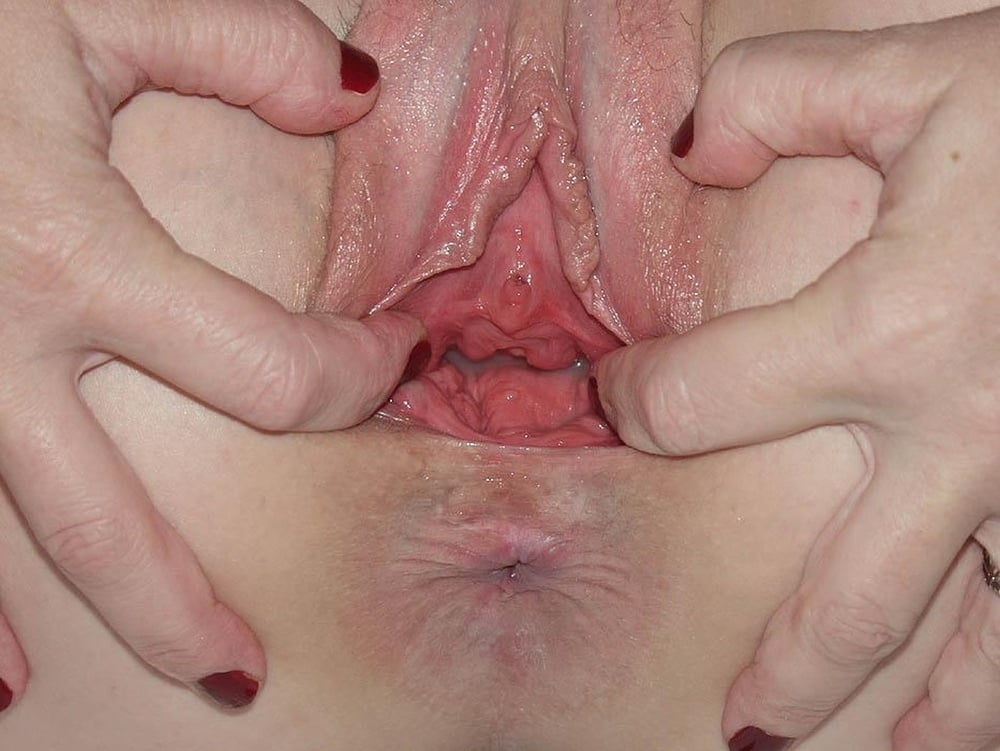 Camera inside vagina after internal creampie